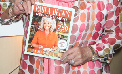 Paula Deen Canned By Target, Novo Nordisk; Cookbooks Flying Off Shelves