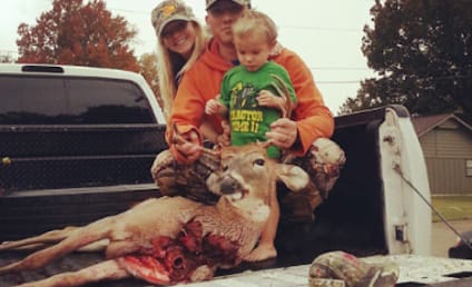 Mackenzie Douthit McKee Poses With Family, Dead Deer on Instagram