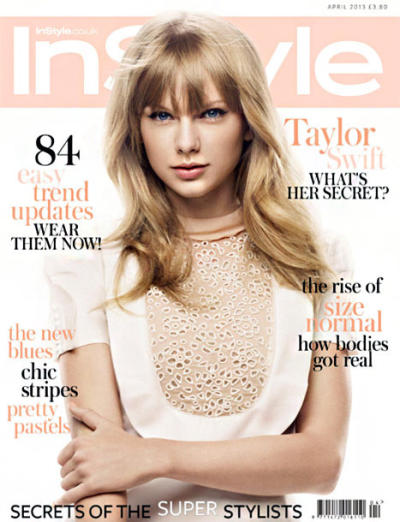 Taylor Swift InStyle UK Cover