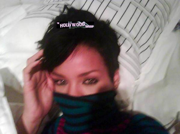 Masked Rihanna