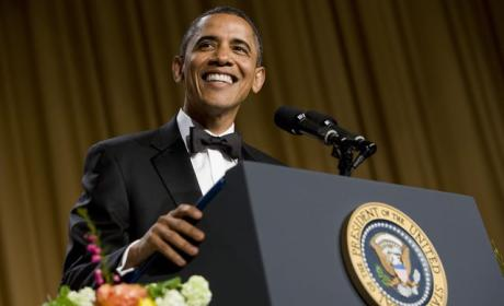 Barack Obama at 2015 White House Correspondents Dinner: EFF IT ALL!