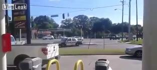 Confederate Flag Parade Ends in Multi-Truck Pile-Up