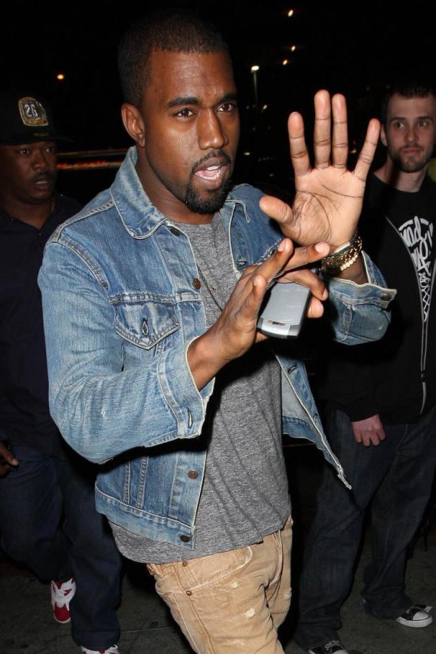 Kanye is OK!