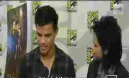 Point, Team Jacob! Kristen Stewart Plants Fake Kiss on Taylor Lautner