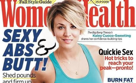 Kaley Cuoco Covers Women's Health, Continues to Hold Out on Big Bang Theory Contract