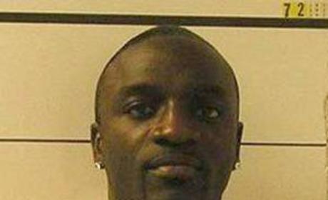 Akon Mug Shot
