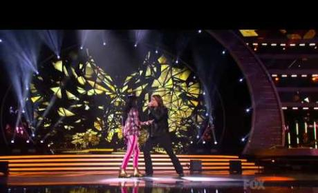 Caleb Johnson and Jena Irene Duet