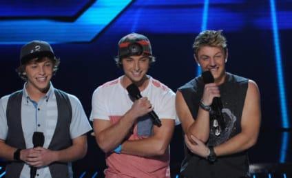 "Emblem3 Reacts to X Factor Elimination, Promises ""Badass Music"""