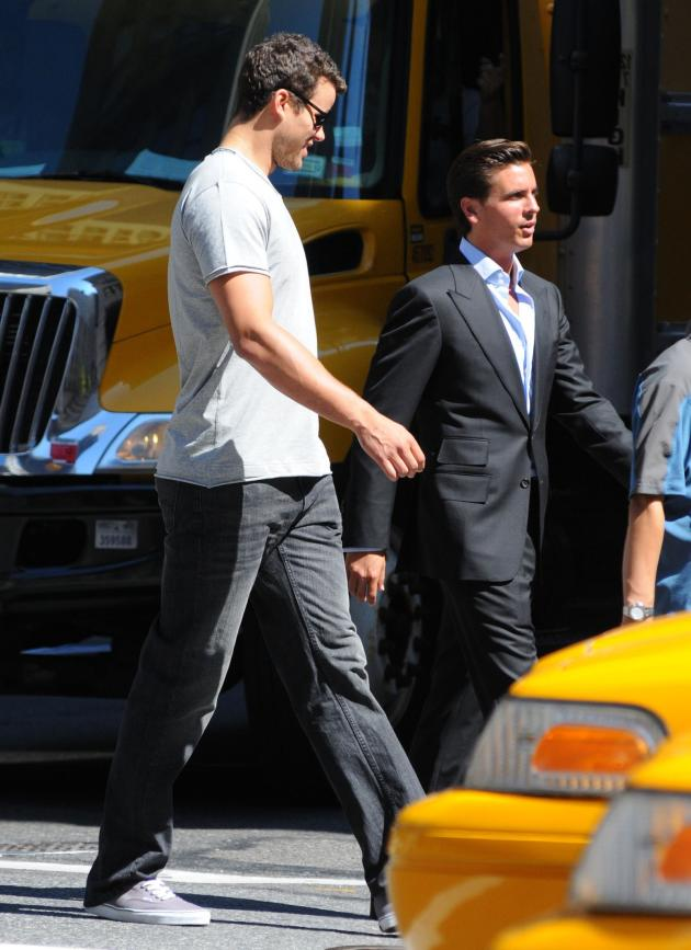 Scott Disick and Kris Humphries