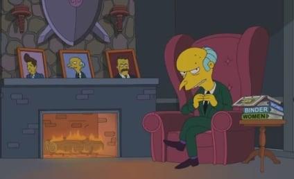 Mr. Burns Endorses Mitt Romney for President