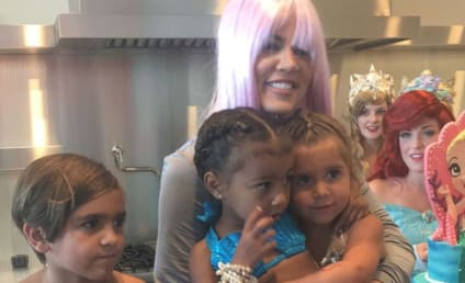 North West and Penelope Disick Birthday Party: A Mermaid Extravaganza!