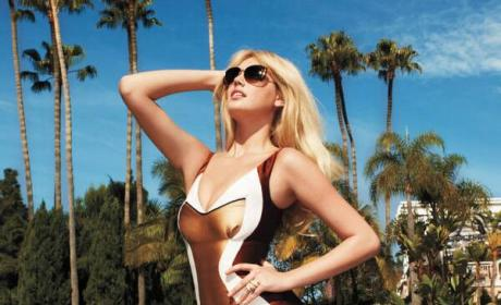 Kate Upton Photoshop Fail: Harper's Bazaar Removes Armpit For Unknown Reasons