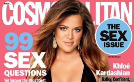 Khloe Kardashian Kovers Kosmo Sex Issue, Talks Naked Cooking