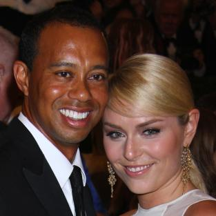 Tiger and Lindsey Photo