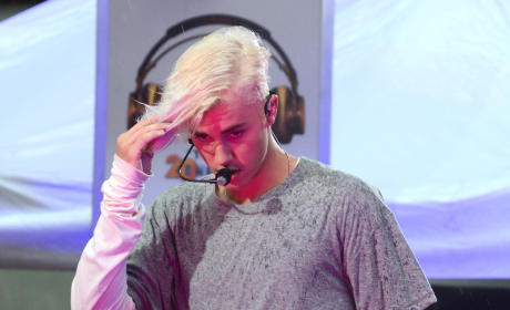 Justin Bieber, New Hair