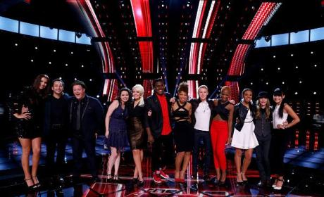 The Voice Top 12 (Season 8)