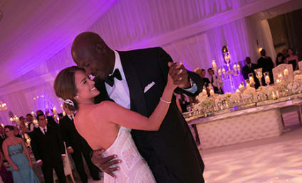 Michael Jordan-Yvette Prieto Wedding Photo: First Look!