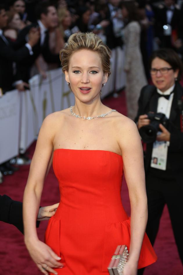 Jennifer Lawrence Academy Awards Photo