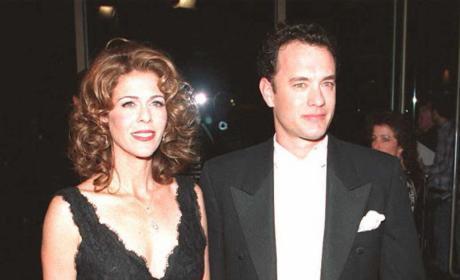 Tom Hanks Rita Wilson old photo