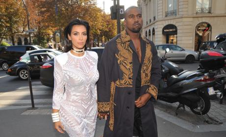 "Kim Kardashian, Kanye West and North West Dubbed ""First Family of Fashion"""