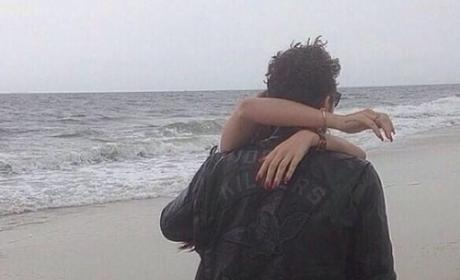 Lana and James at the Beach