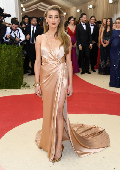 Amber Heard: 2016 Costume Institute Gala