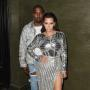 Kanye West and Kim Kardashian: Balmain Met Gala After Party