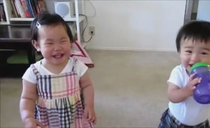 Kids Get Sprayed With Water, Laugh Hysterically