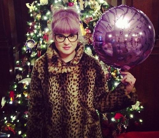 Kelly Osbourne on Christmas