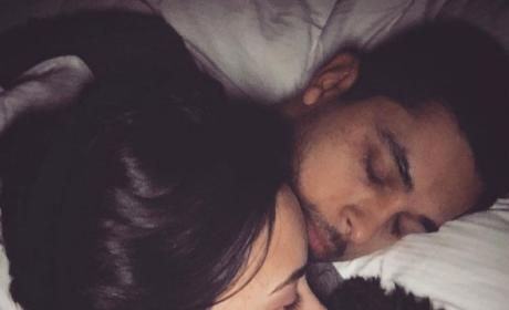 Demi Lovato and Wilmer Valderrama Sleep
