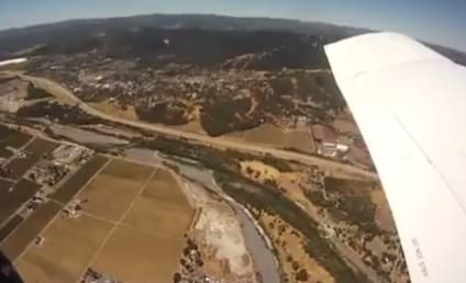 Camera Falls Out of Airplane and Into Pig Pen: Could This Be Real?!?