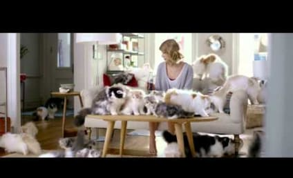Taylor Swift, Many Cats Star in New Diet Coke Commercial