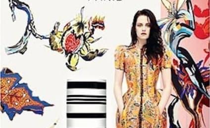 Kristen Stewart Debuts Balenciaga Ad Campaign
