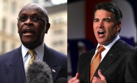 Herman Cain Accuses Rick Perry of Smear Campaign, Fueling Sexual Harassment Allegations