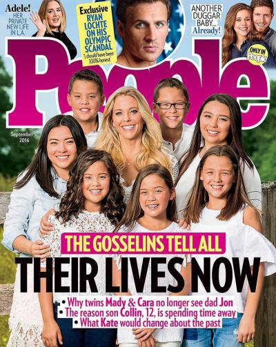 Gosselin Family People Cover