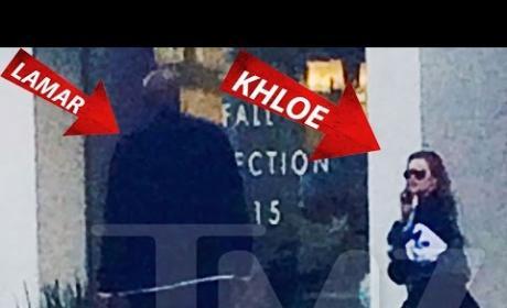 Lamar Odom Ambushes Khloe Kardashian