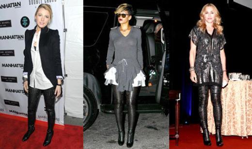 Blake, Rihanna and Madonna