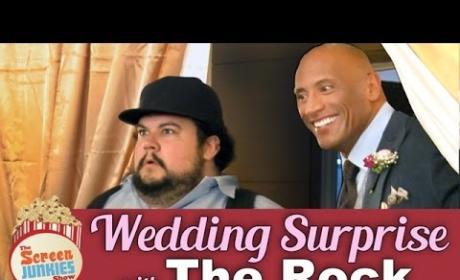 Dwayne Johnson Marries Couple at Surprise Wedding