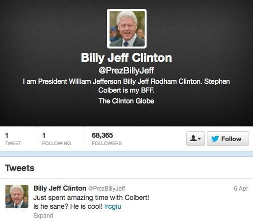 Clinton Twitter