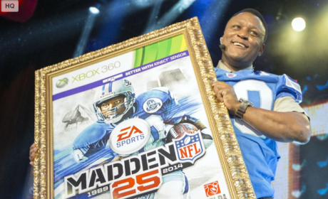 Madden 25 Cover Winner: Barry Sanders!