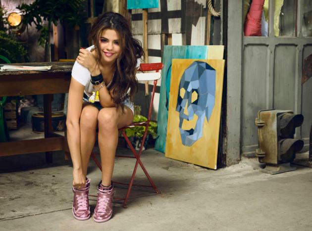 Selena Gomez Adidas Campaign Pic