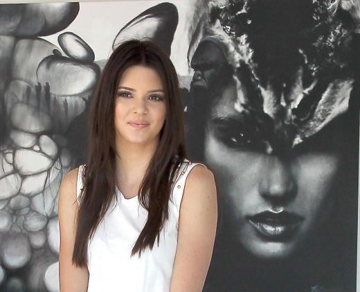 Kendall Jenner Modeling Shot