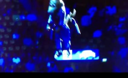 Denver Nuggets Mascot Gets Lowered to the Court, Passes Out from Dizziness