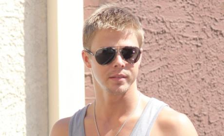 Derek Hough and Lauren Conrad: Spotted Kissing!