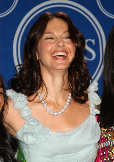 Ashley Judd Laughs