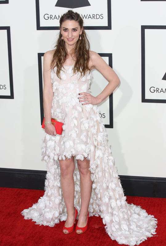 Sara Bareilles at the Grammys