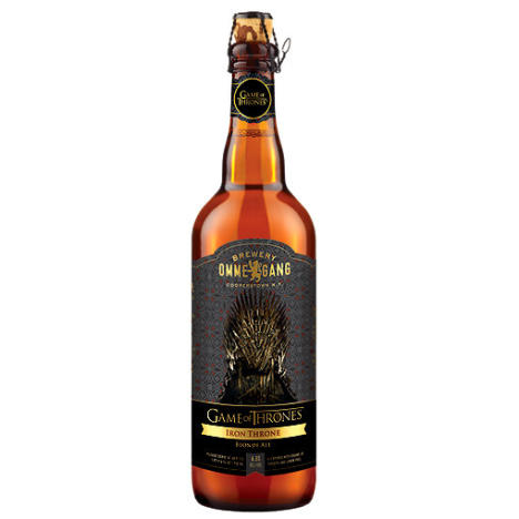 Game of Thrones beer bottle