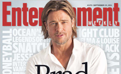 Brad Pitt Covers Entertainent Weekly, Talks Life