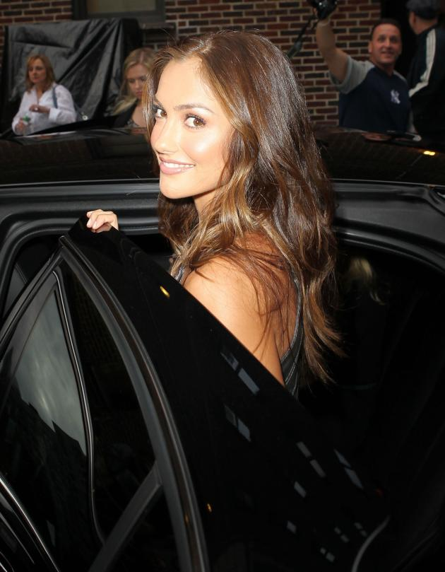 Minka Kelly Limo Ride