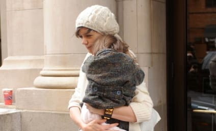 Suri Cruise, Crazy Parents Out & About